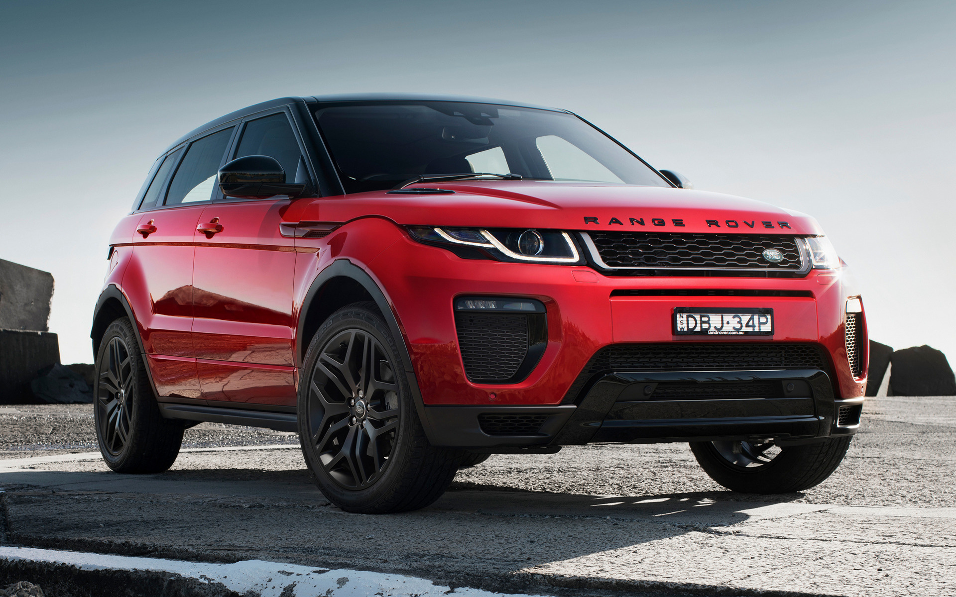 range rover evoque hse dynamic 2015 au wallpapers and hd images car pixel. Black Bedroom Furniture Sets. Home Design Ideas