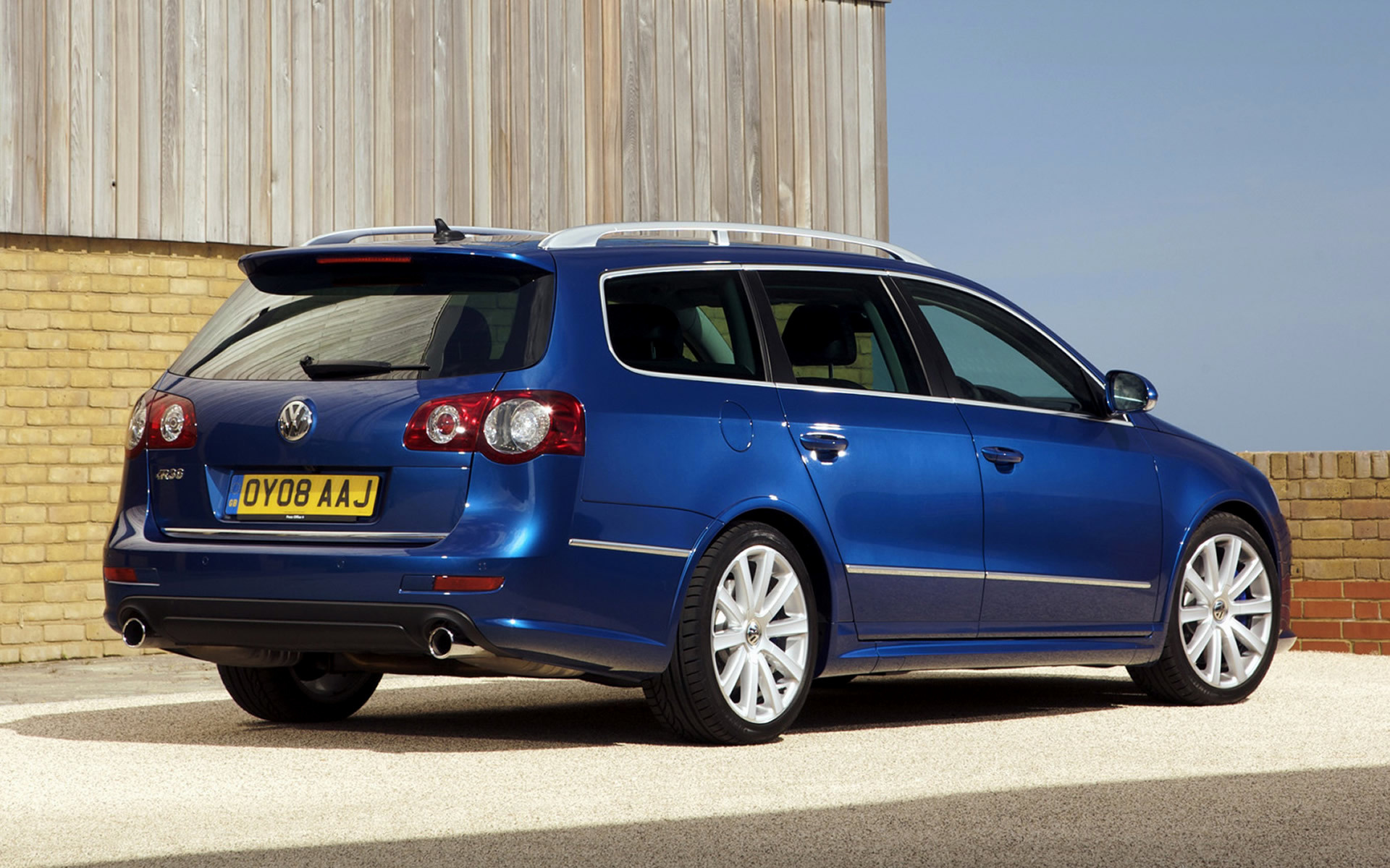 Ed Martin Gmc >> 2008 Volkswagen Passat R36 Estate (UK) - Wallpapers and HD ...
