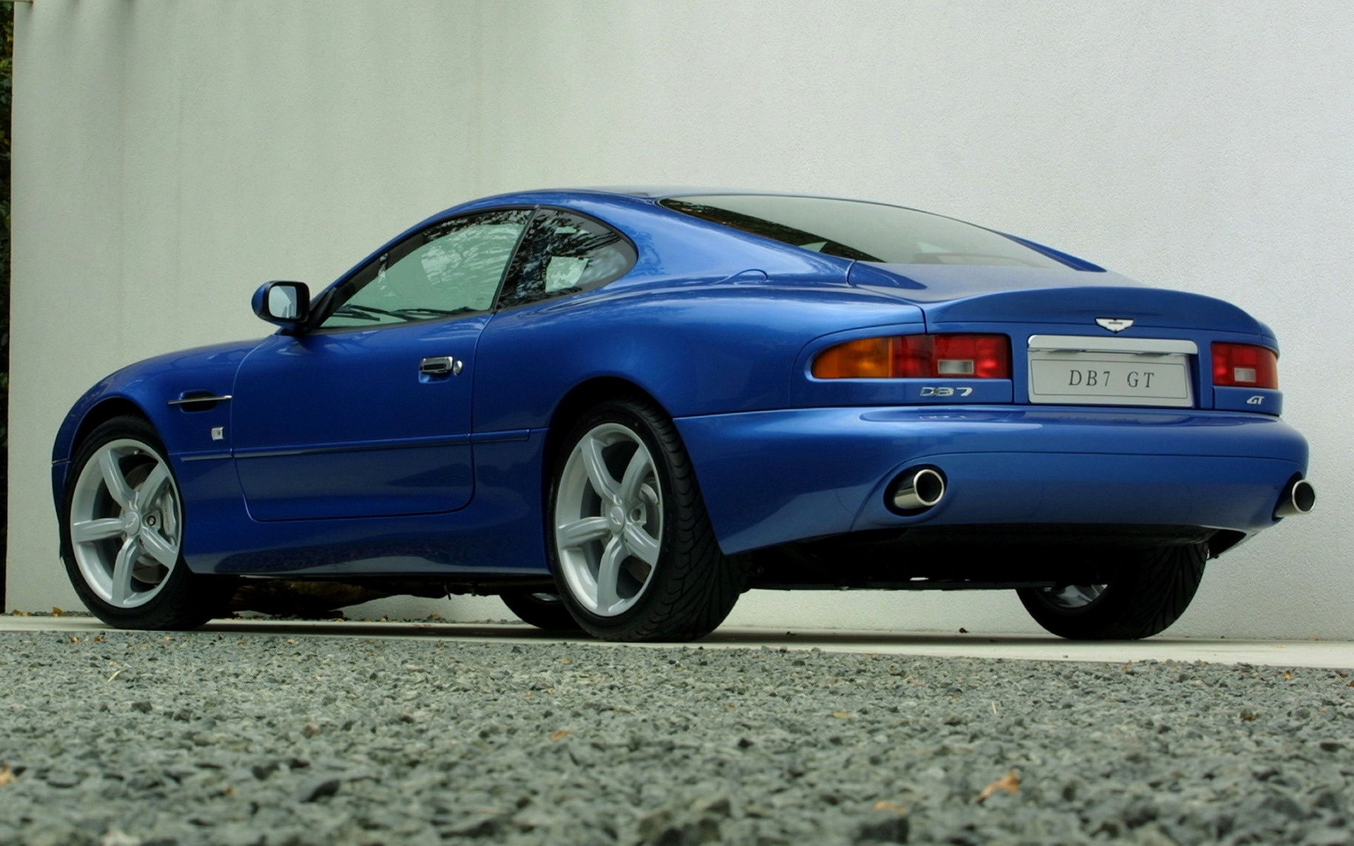 2003 Aston Martin DB7 GT (UK)