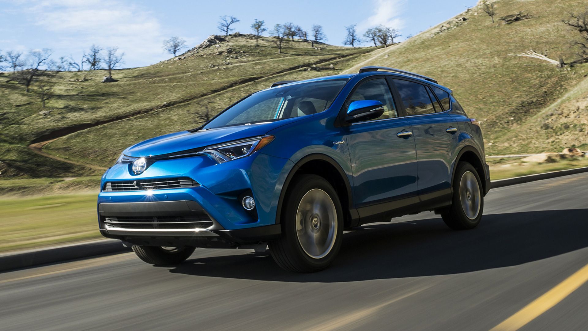 2016 Toyota Rav4 Hybrid Us Wallpapers And Hd Images
