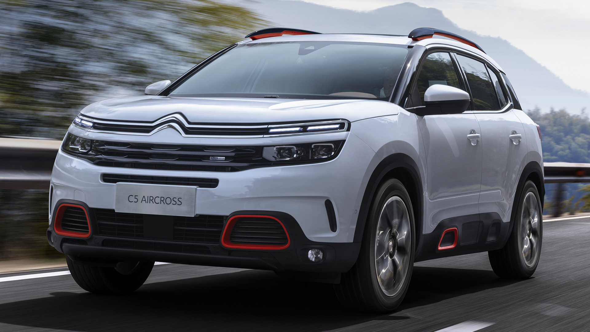 citroen c5 aircross 2018 cn wallpapers and hd images car pixel. Black Bedroom Furniture Sets. Home Design Ideas