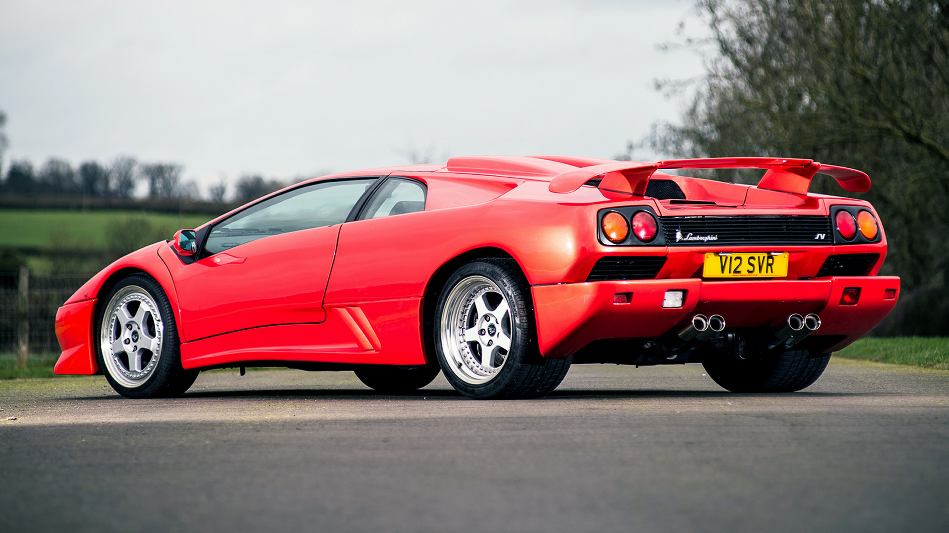 Lamborghini Diablo Sv Wallpaper Hd