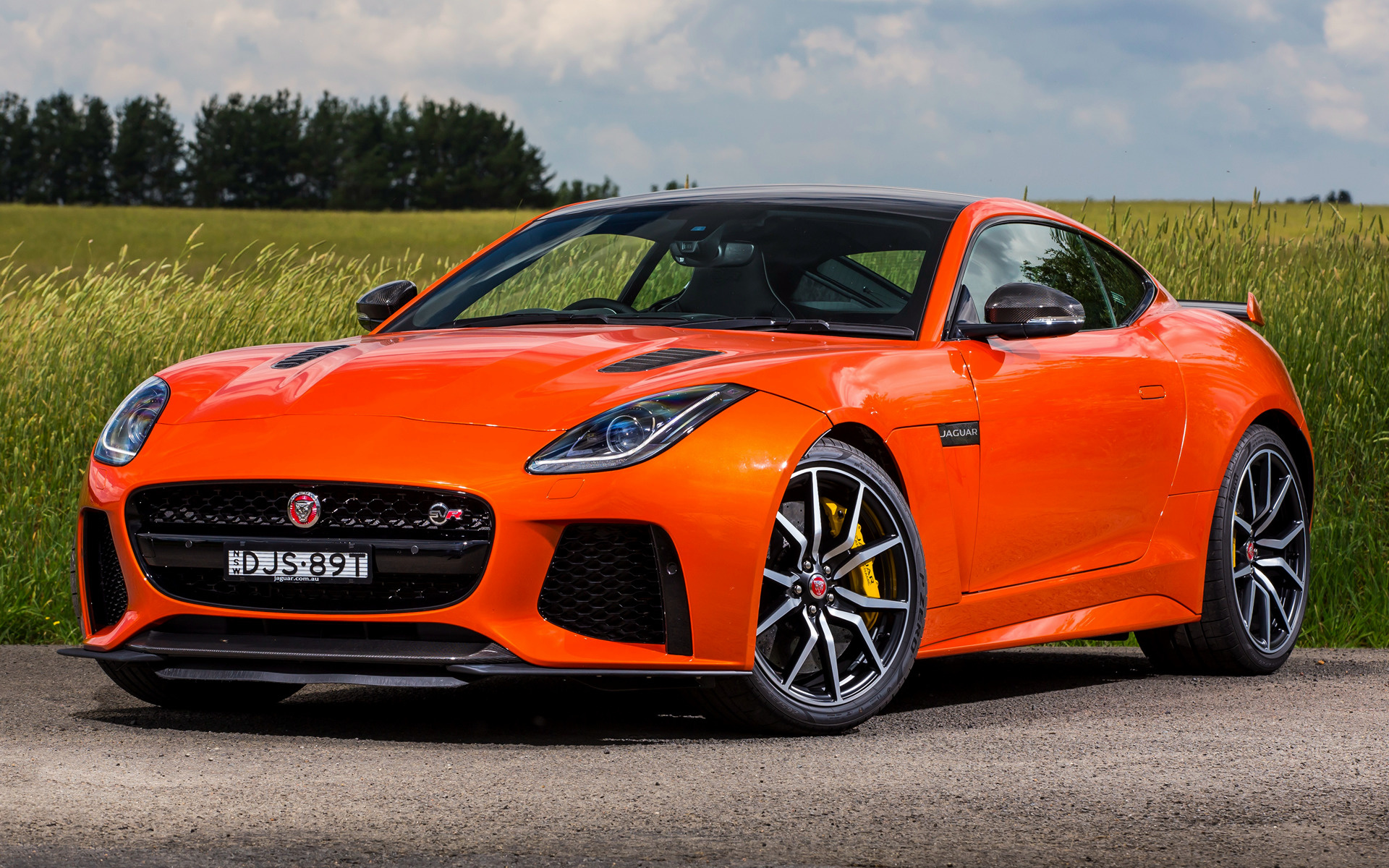 2016 Jaguar F Type Svr Coupe Au Wallpapers And Hd