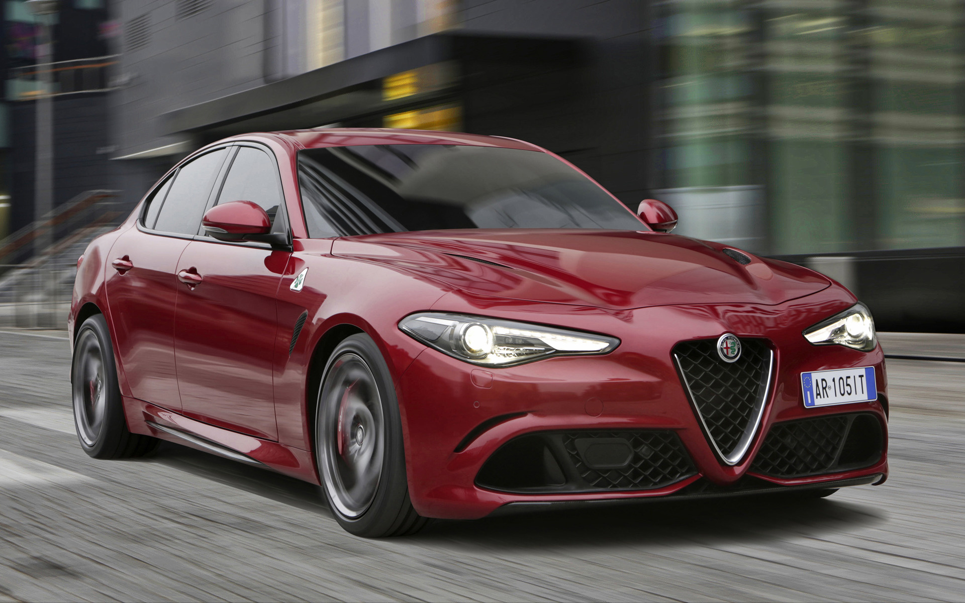 2016 Dodge Ram >> 2016 Alfa Romeo Giulia Quadrifoglio - Wallpapers and HD Images | Car Pixel