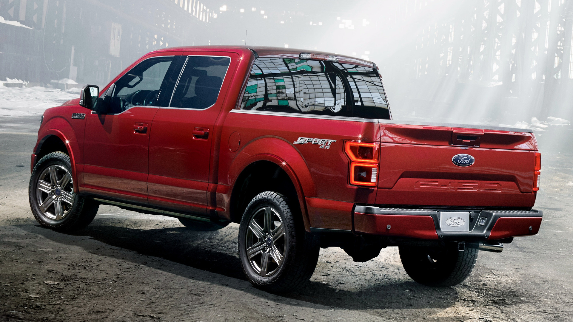 Ford F150 Crew Cab >> 2018 Ford F-150 Lariat Sport SuperCrew - Wallpapers and HD Images | Car Pixel
