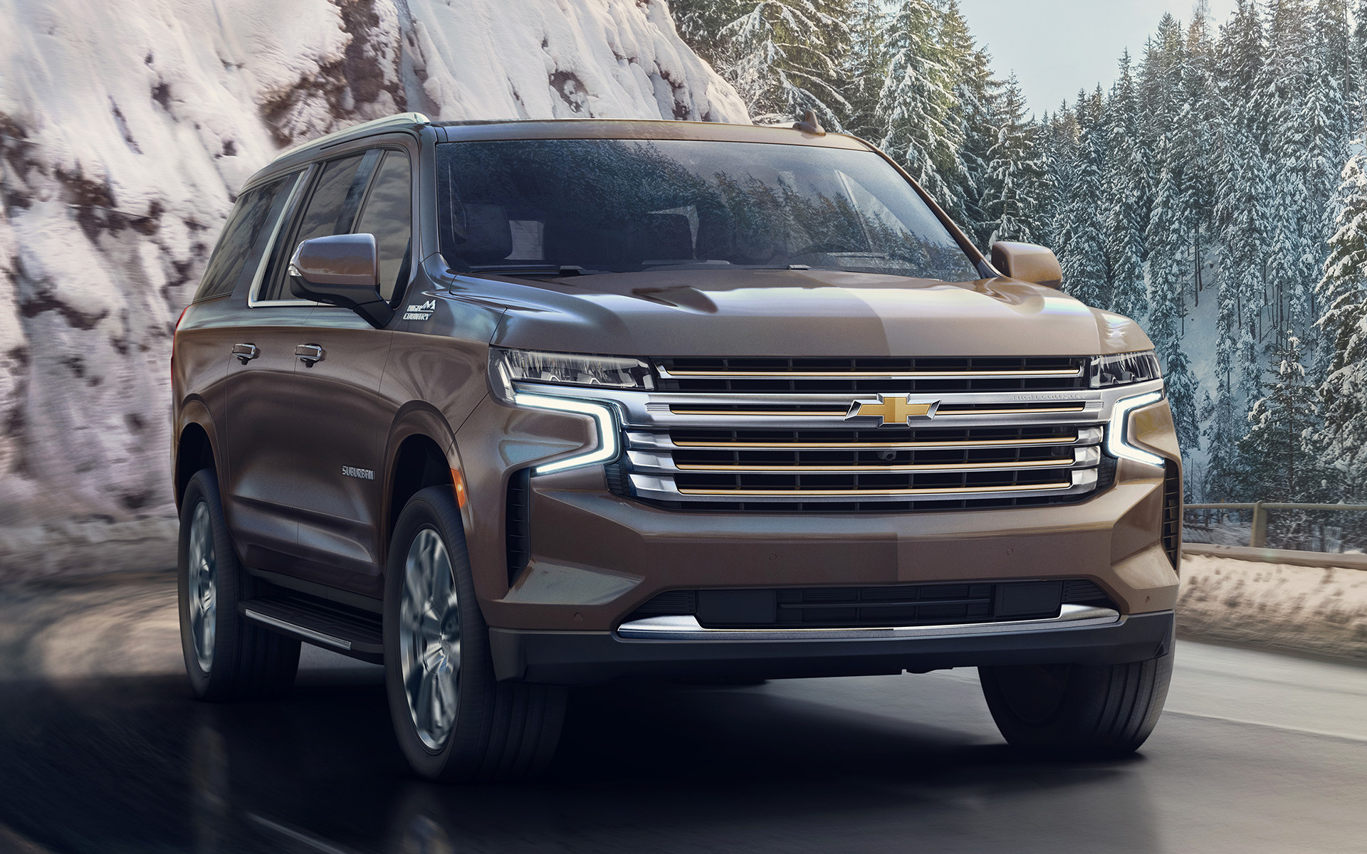 2021 Chevrolet Suburban High Country - Wallpapers and HD ...