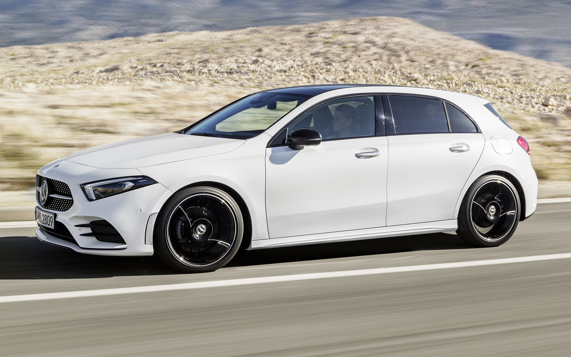 Mercedes benz a class amg line 2018 wallpapers and hd for Mercedes benz sedan line