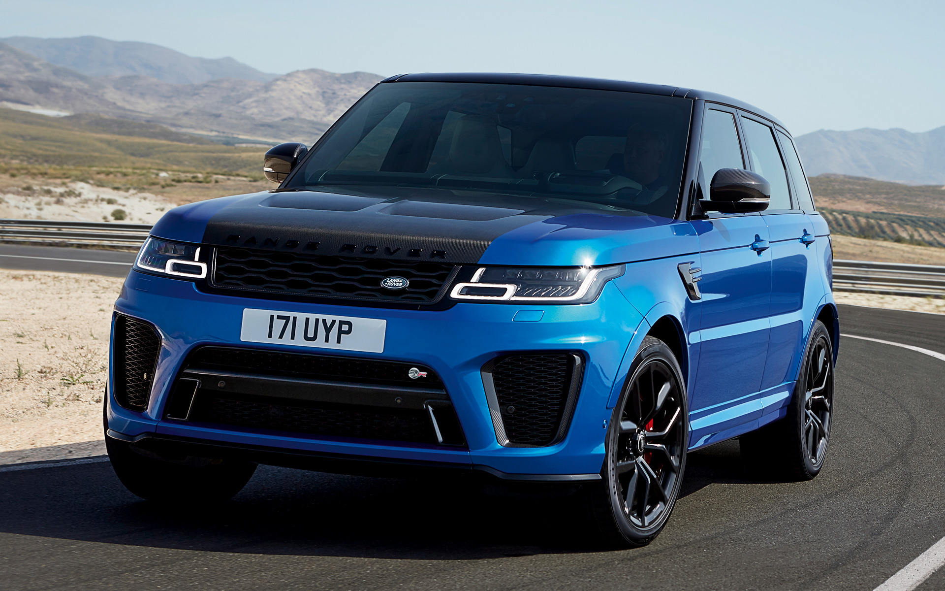 2017 Range Rover Sport Svr Wallpapers And Hd Images