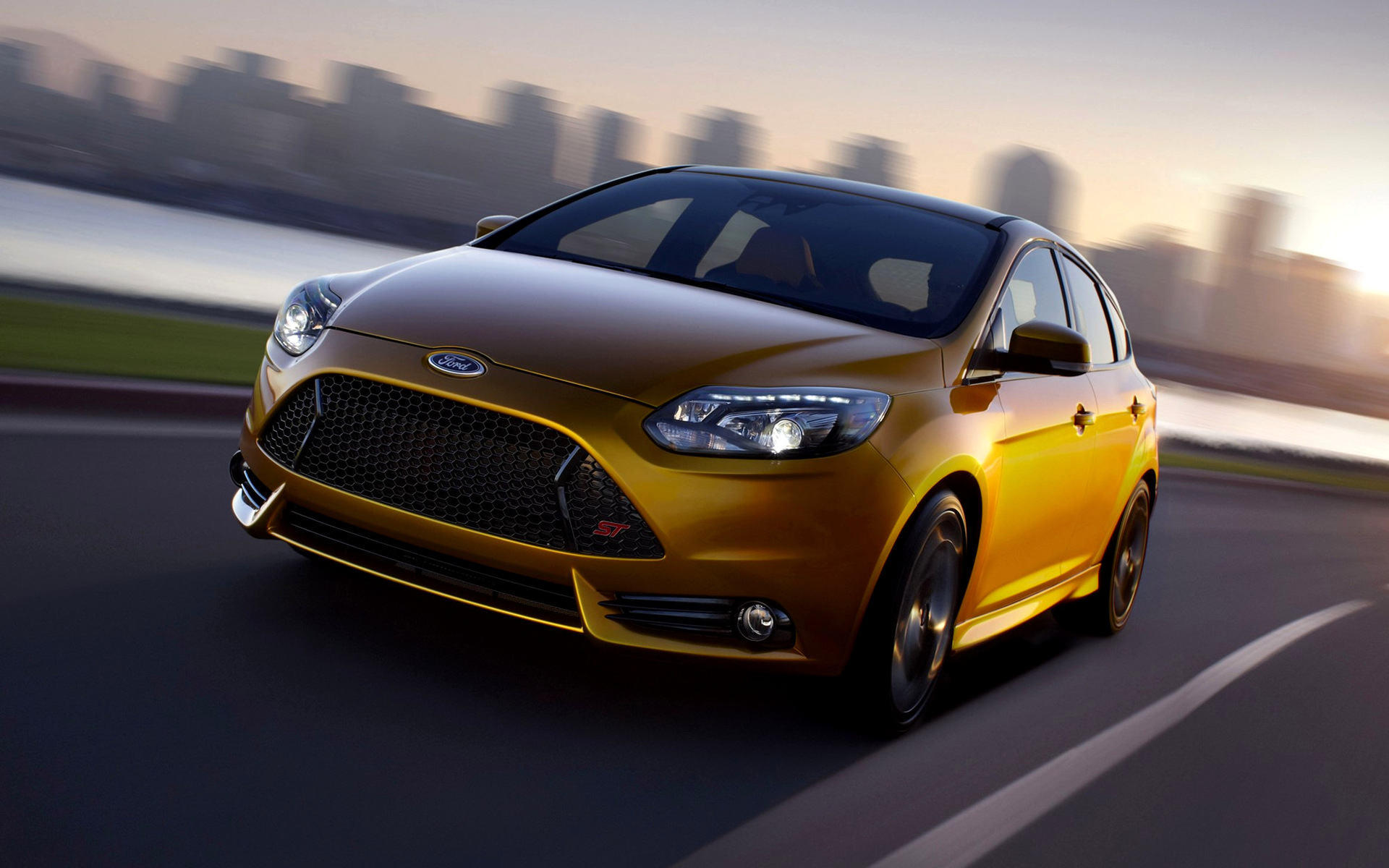 ford focus st concept (2010) wallpapers and hd images - car pixel