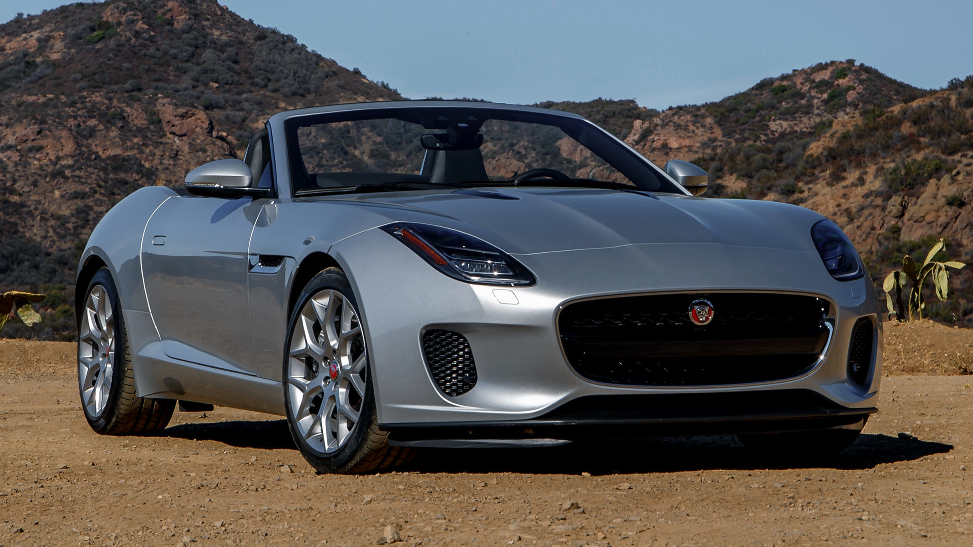 2018 Jaguar F-Type Convertible (US) - Wallpapers and HD Images | Car Pixel