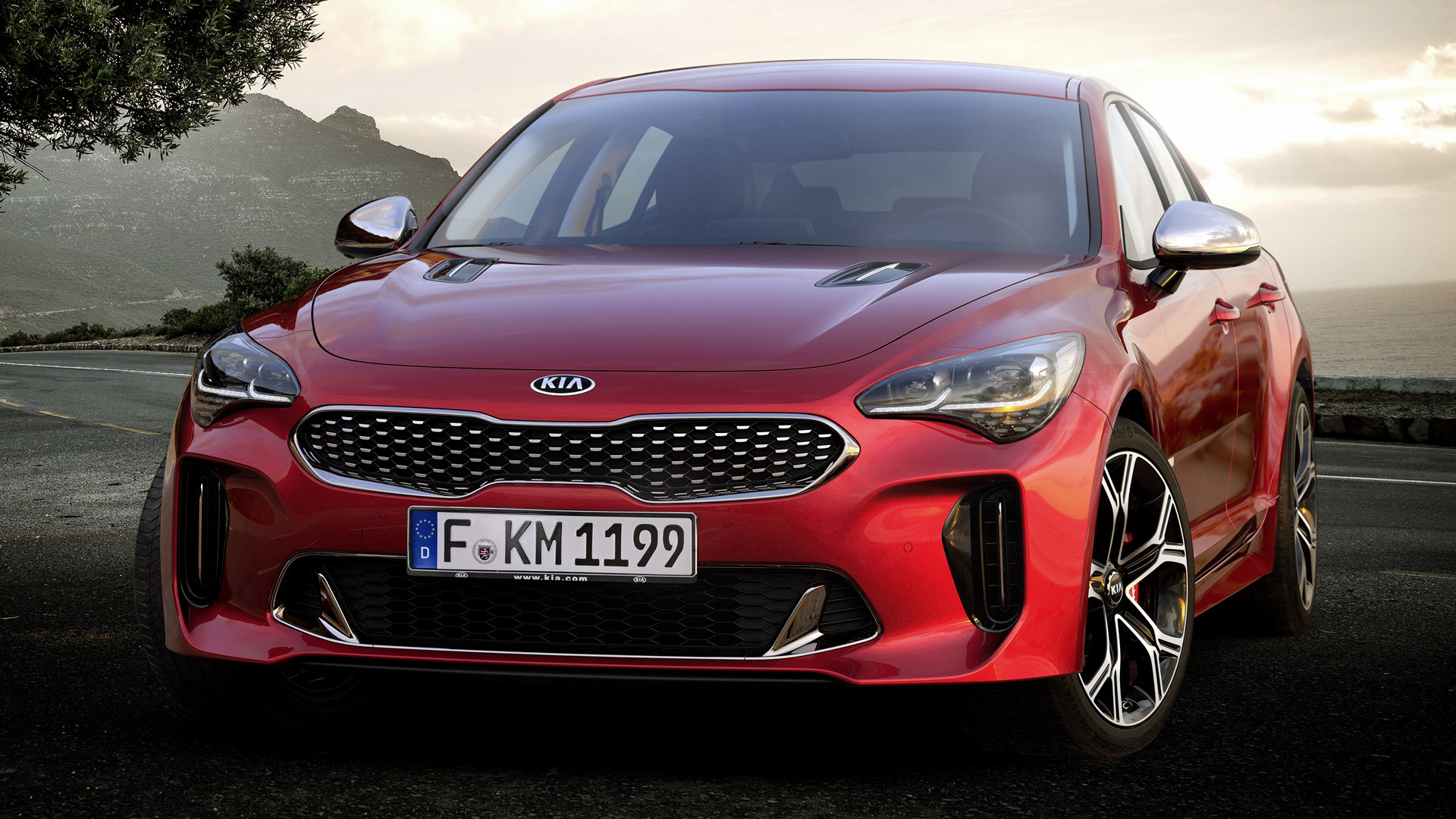 2017 Kia Stinger Gt Wallpapers And Hd Images Car Pixel