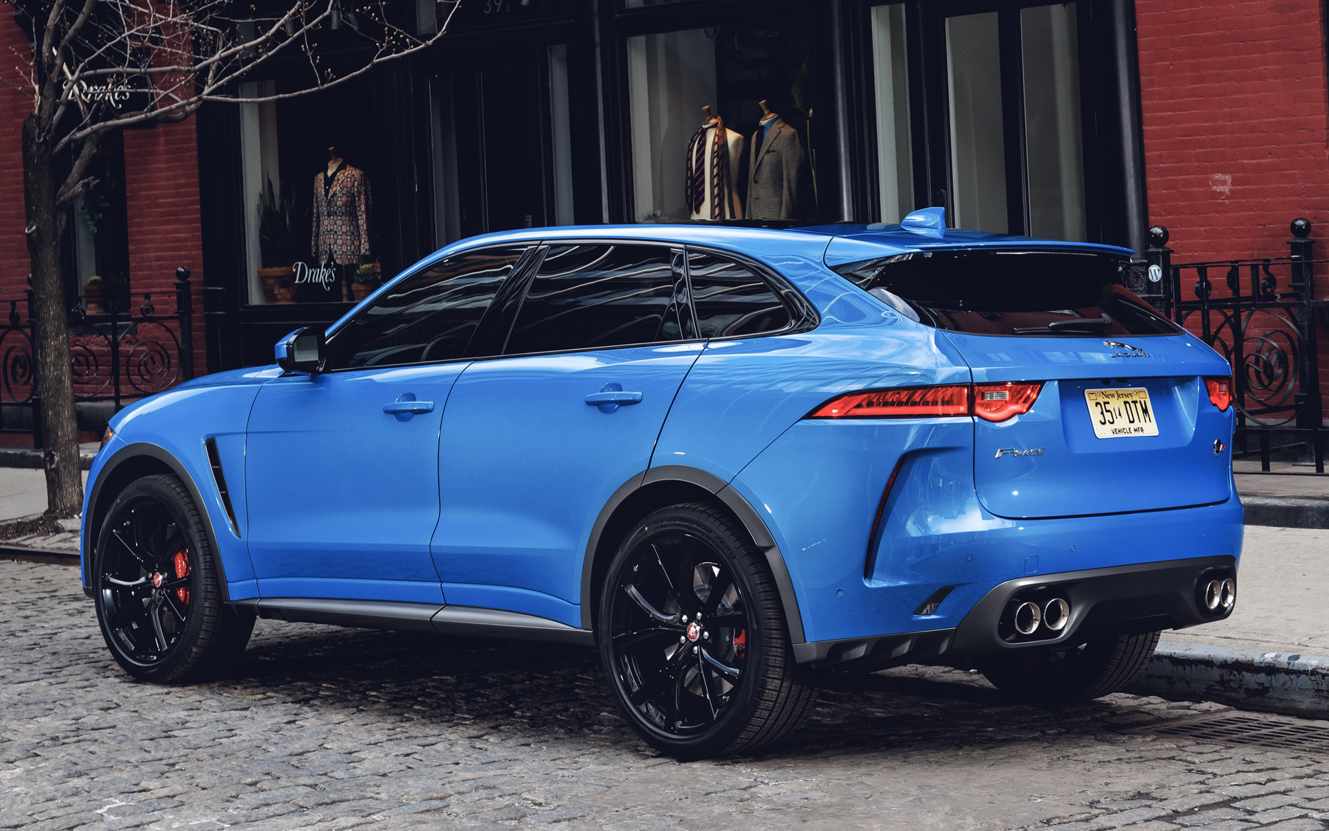 Alfa Romeo Suv >> Jaguar F-Pace SVR (2019) US Wallpapers and HD Images - Car Pixel