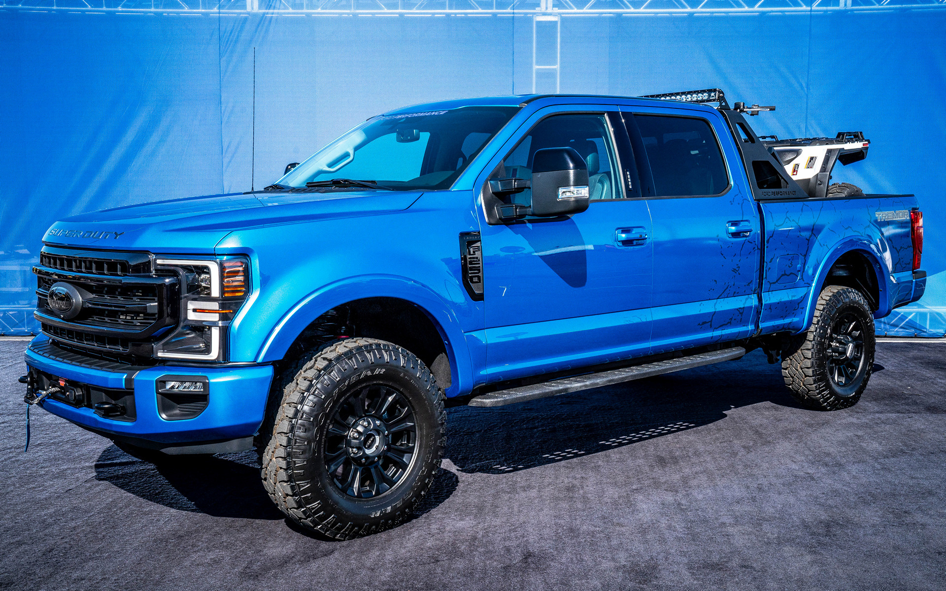 F 150 Tremor >> 2019 Ford F-250 Super Duty Tremor Crew Cab Black Appearance Package - Wallpapers and HD Images ...