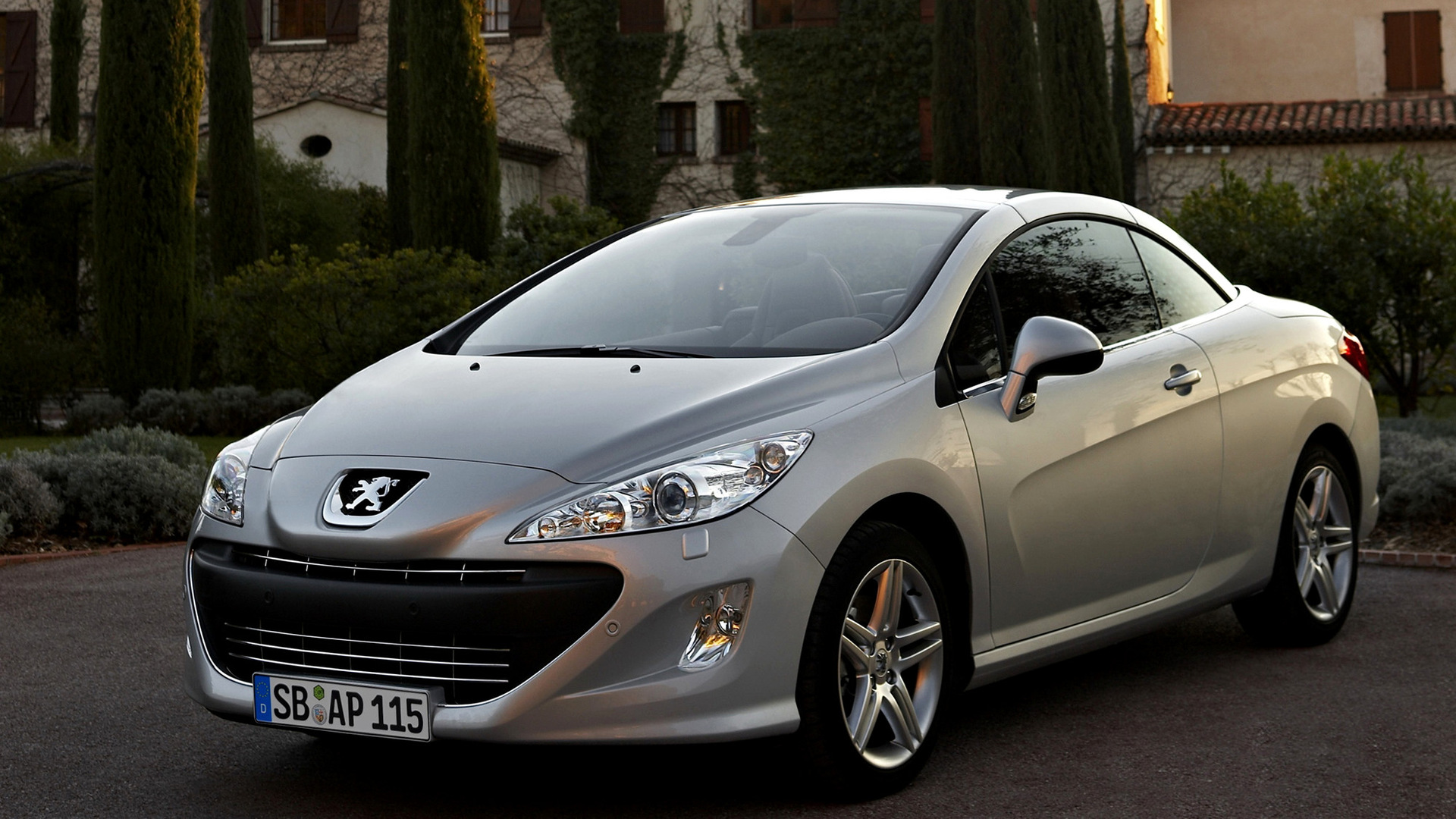 peugeot 308 cc 2009 wallpapers and hd images car pixel. Black Bedroom Furniture Sets. Home Design Ideas