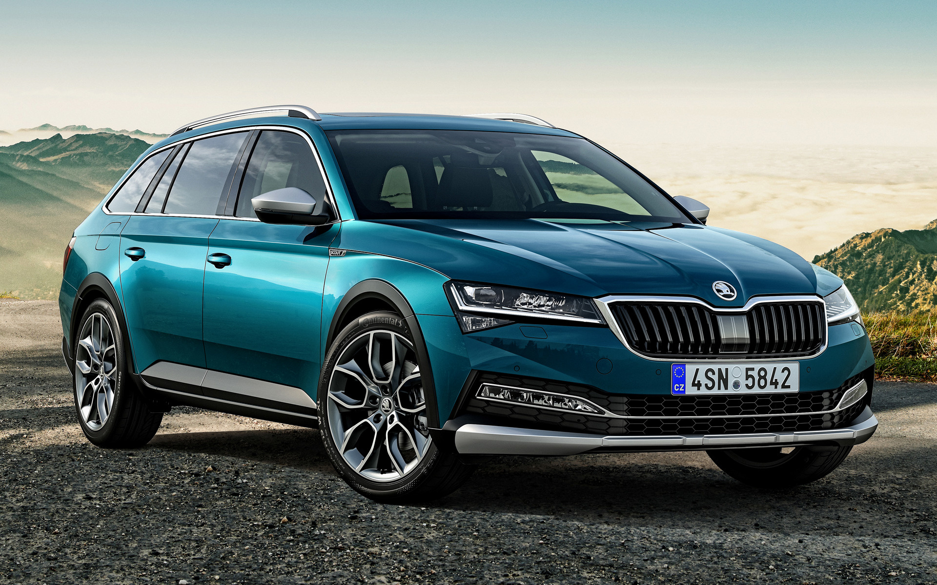 2019 Skoda Superb Scout - Wallpapers and HD Images | Car Pixel