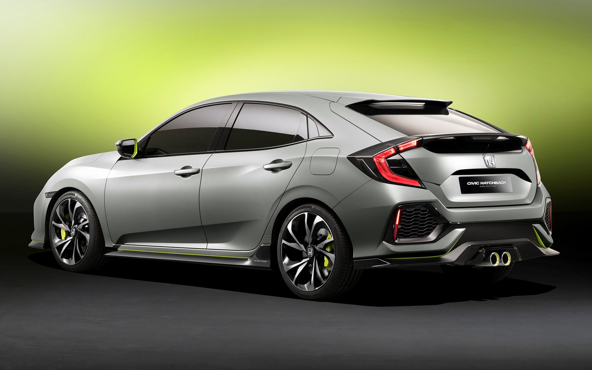 honda civic hatchback prototype 2016 wallpapers and hd images car pixel. Black Bedroom Furniture Sets. Home Design Ideas