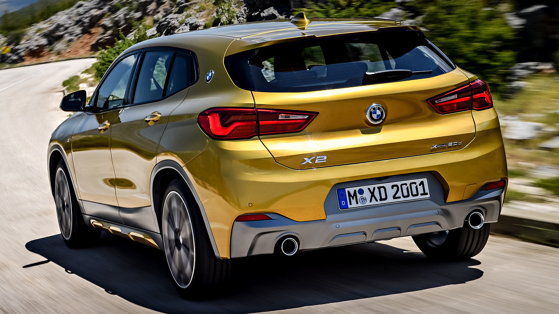 bmw x2 m sport x 2018 wallpapers and hd images car pixel. Black Bedroom Furniture Sets. Home Design Ideas