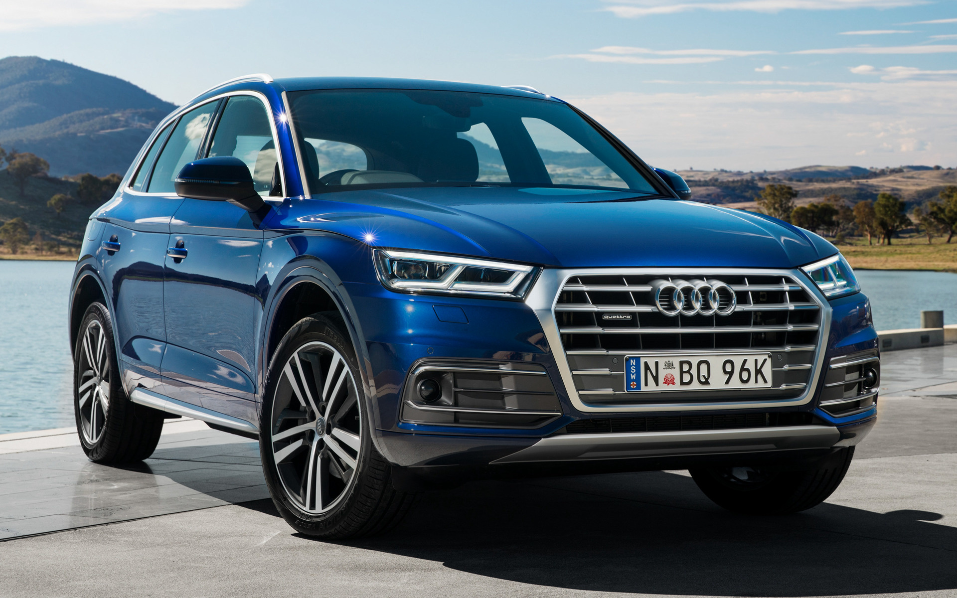 audi q5 2017 au wallpapers and hd images car pixel. Black Bedroom Furniture Sets. Home Design Ideas