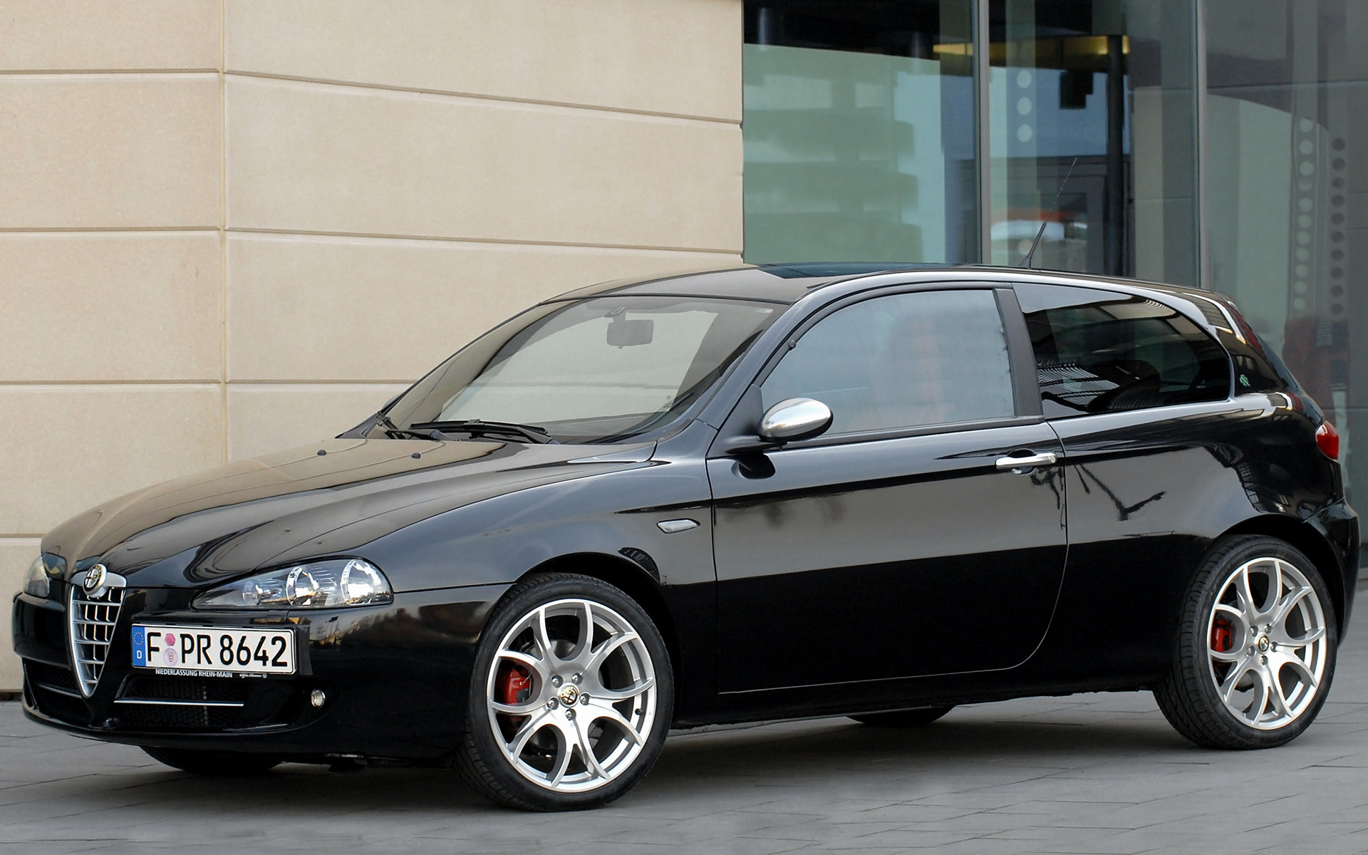 2008 Alfa Romeo 147 Quadrifoglio Verde 3 Door Wallpapers And Hd Images Car Pixel