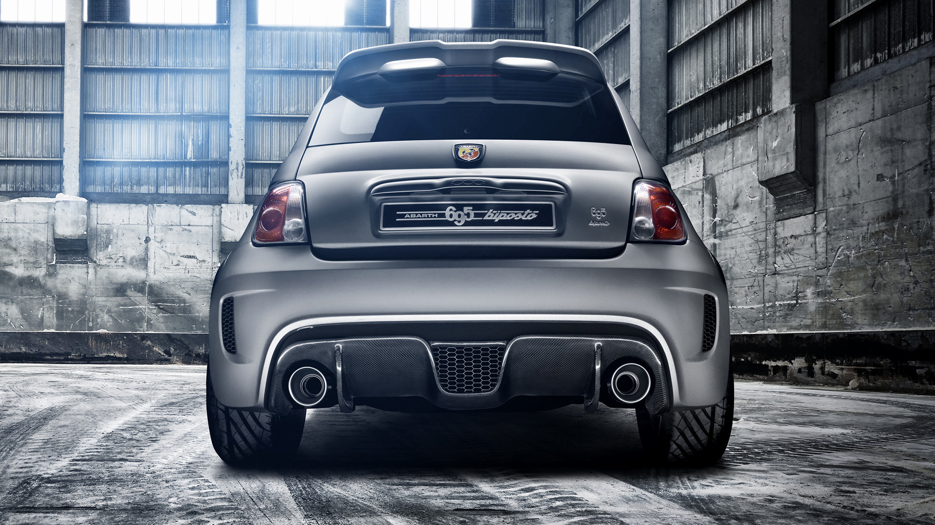 2014 Abarth 695 Biposto on subaru logo