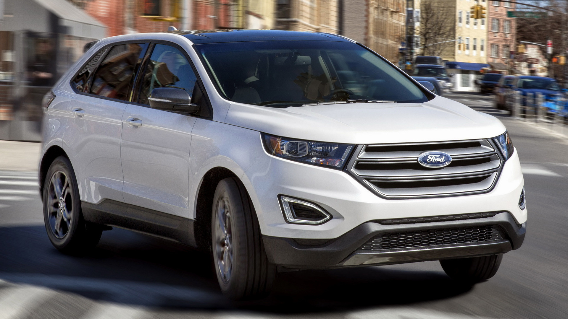 2018 Ford Edge SEL Sport Appearance Package - Wallpapers ...