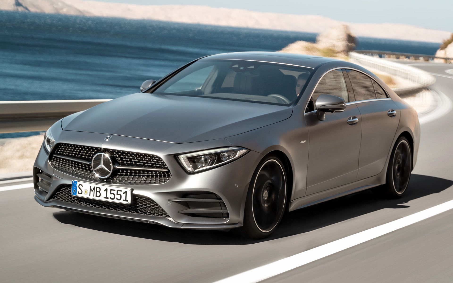 2018 Mercedes Benz Cls Class Amg Line Wallpapers And Hd Images