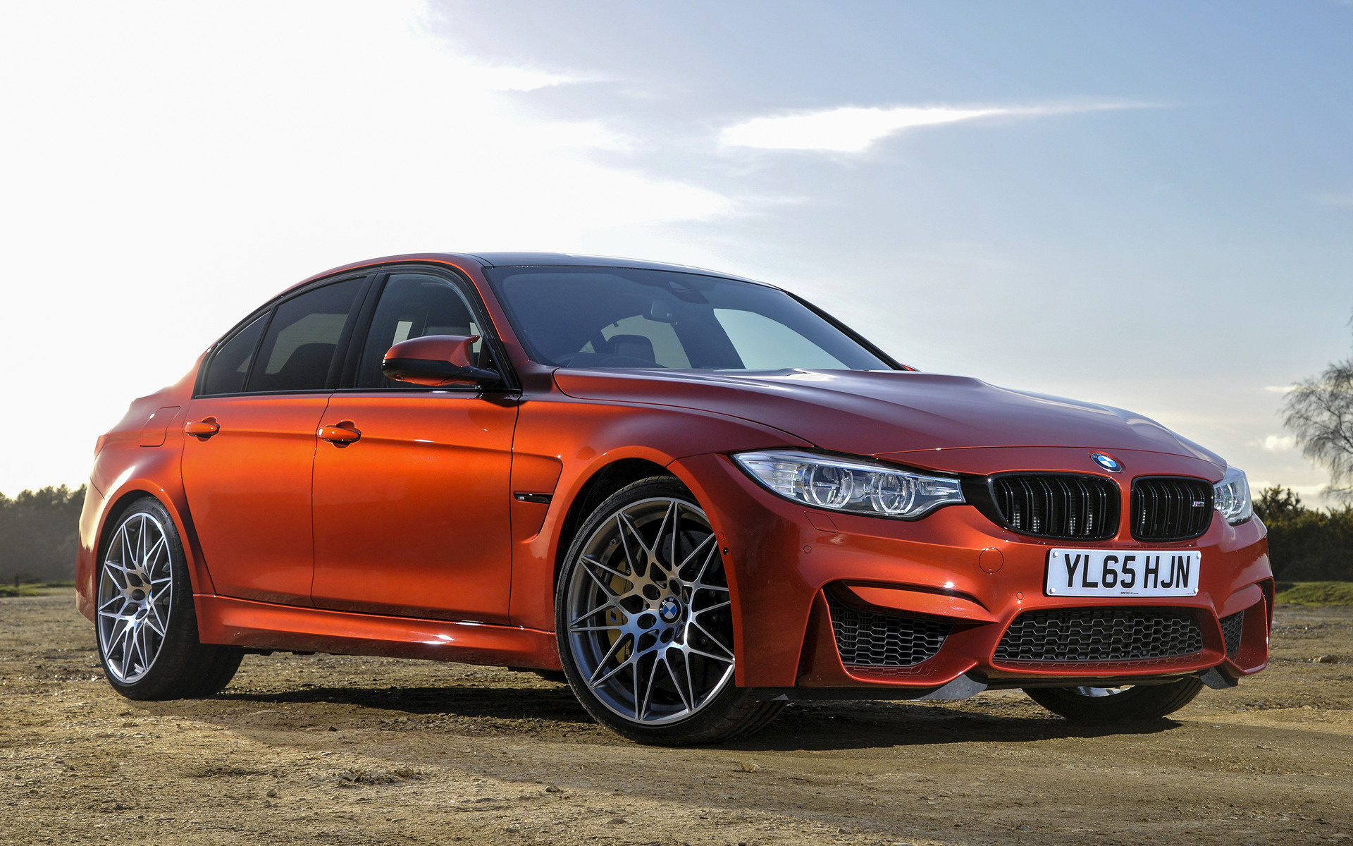 2016 Bmw M3 Competition Package Uk Wallpapers And Hd
