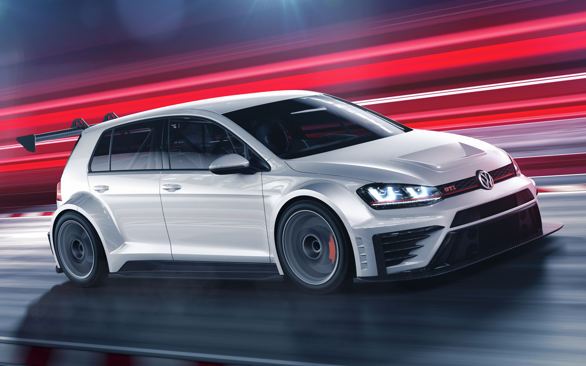 Volkswagen Golf GTI TCR (2016) Wallpapers and HD Images ...