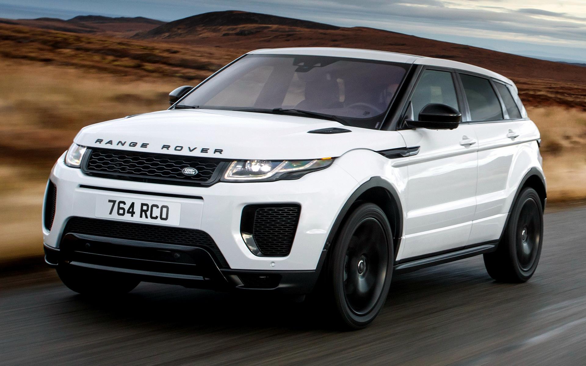 Range Rover Evoke >> 2017 Range Rover Evoque Dynamic Black Design Pack ...