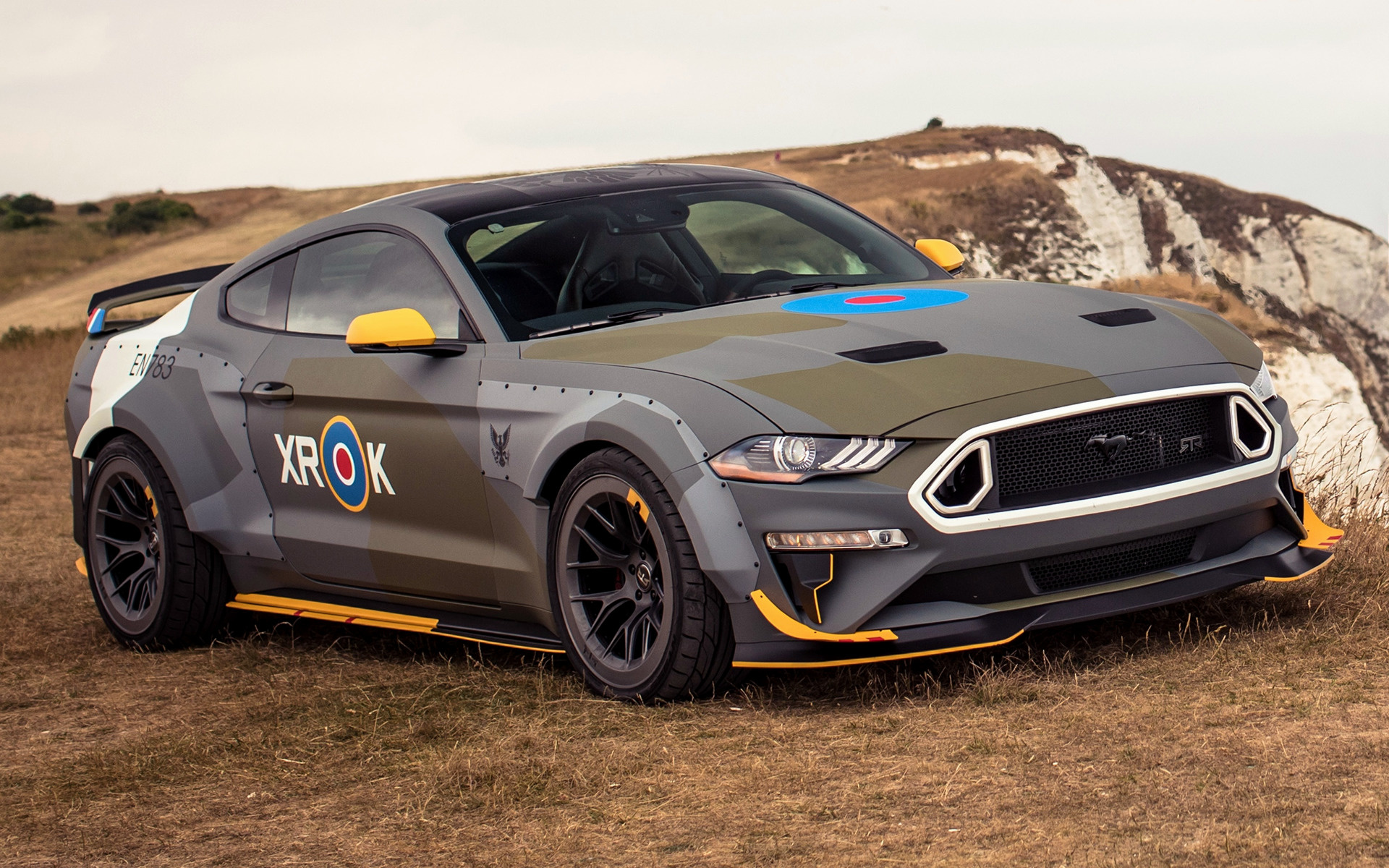 Ford Eagle Squadron Mustang GT (2018) Wallpapers and HD ...