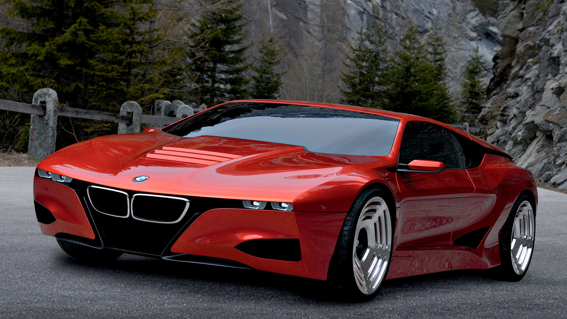 2008 bmw m1 hommage wallpapers and hd images car pixel. Black Bedroom Furniture Sets. Home Design Ideas