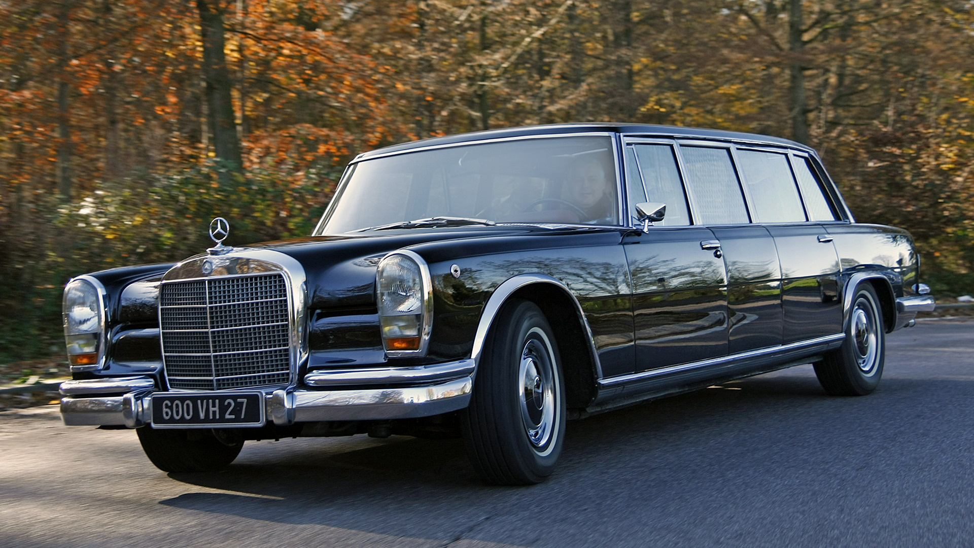 Toyota Of Pullman >> 1964 Mercedes-Benz 600 Pullman - Wallpapers and HD Images | Car Pixel