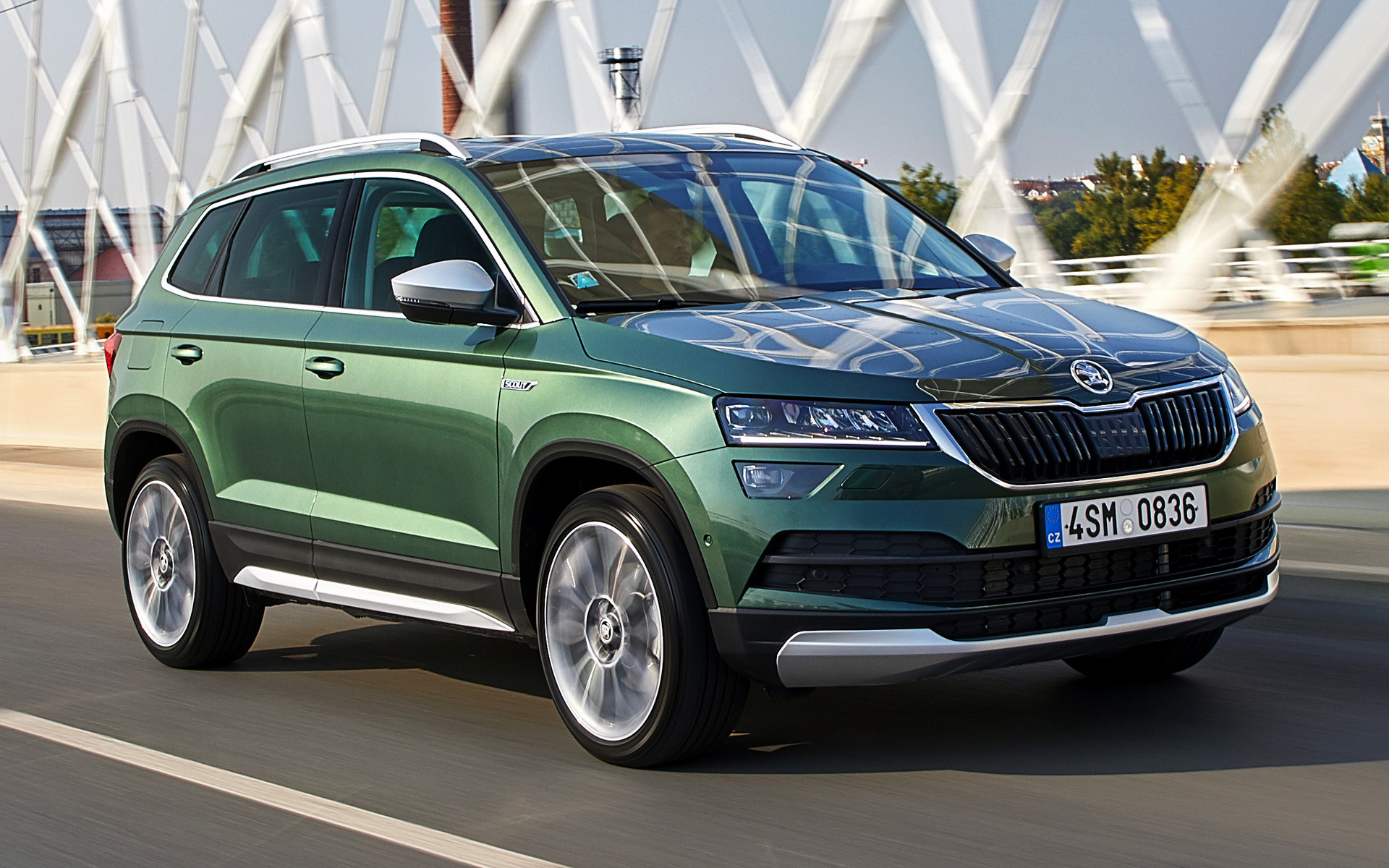 2018 Skoda Karoq Scout Wallpapers And Hd Images Car Pixel