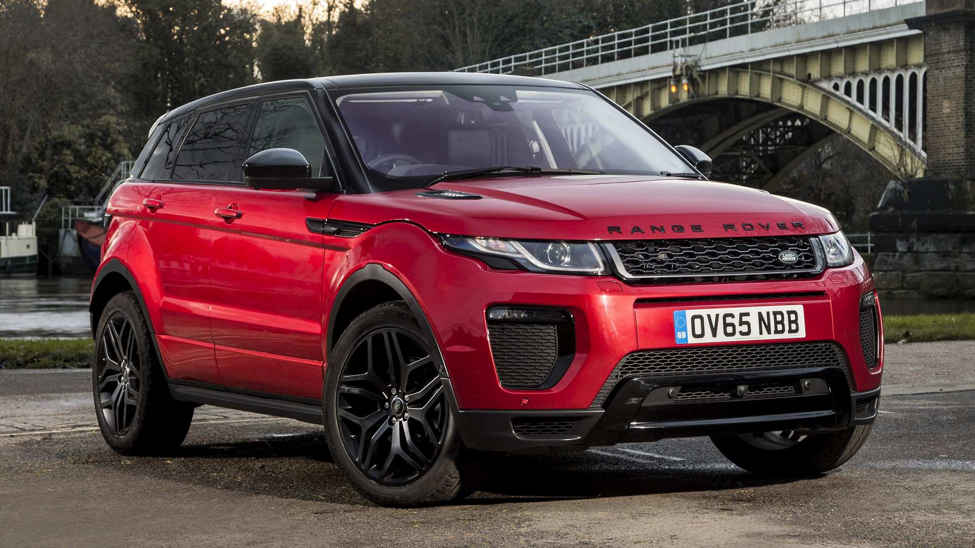 Range Rover Evoque Dynamic 2015 Uk Wallpapers And Hd