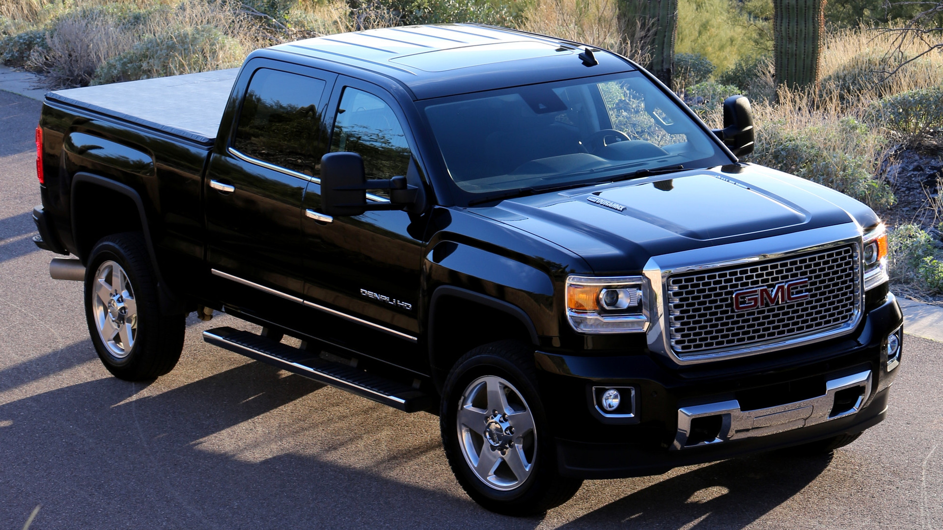 gmc sierra denali 2500 hd crew cab 2015 wallpapers and hd images car pixel. Black Bedroom Furniture Sets. Home Design Ideas