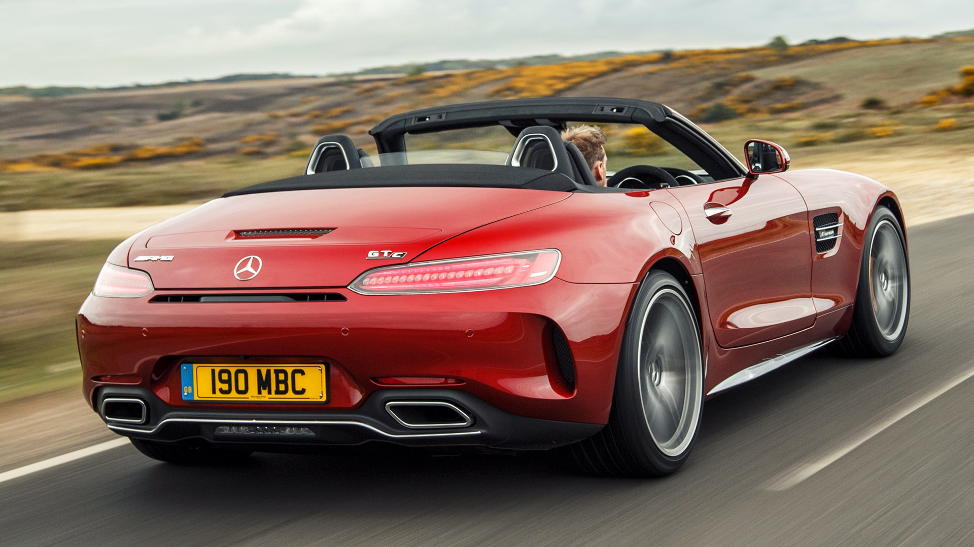 2017 Mercedes Amg Gt C Roadster Uk Wallpapers And Hd Images Car Pixel