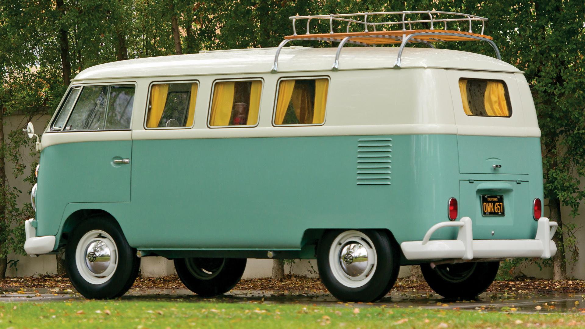 1962 Volkswagen T1 Westfalia Camper