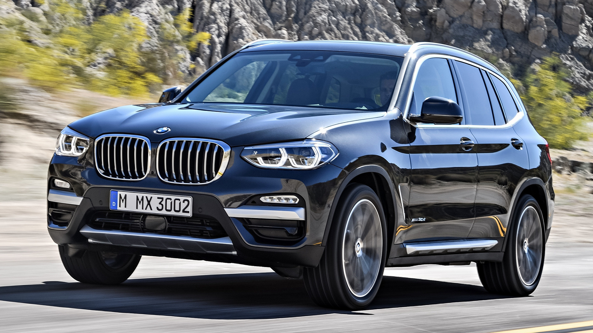 Land Rover Diesel >> 2017 BMW X3 - Wallpapers and HD Images | Car Pixel