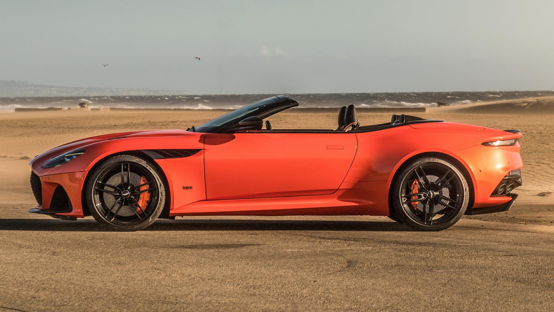 2019 Aston Martin Dbs Superleggera Volante Papeis De Parede E Imagens De Fundo Em Hd Car Pixel