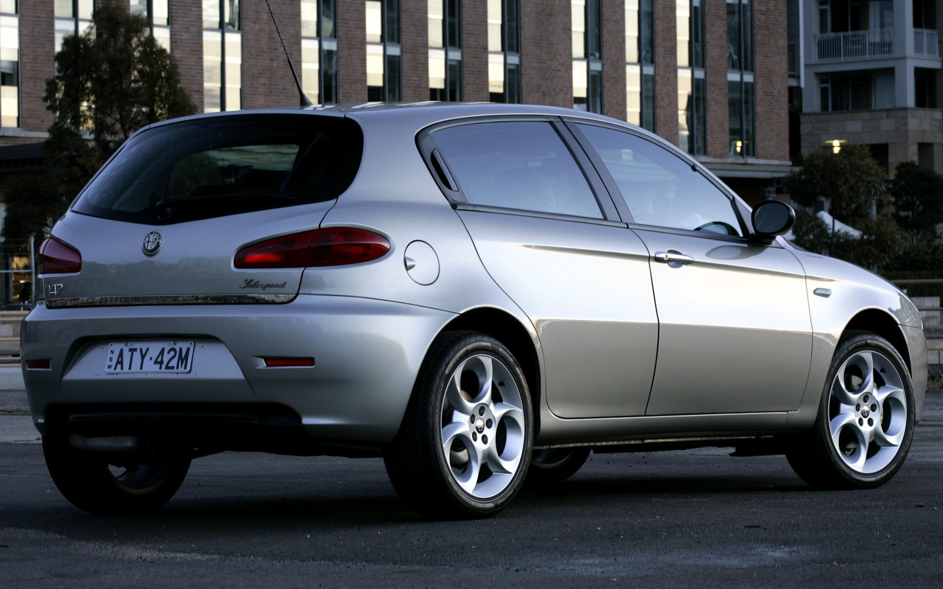 2005 Alfa Romeo 147 5 Door Au Wallpapers And Hd Images Car Pixel