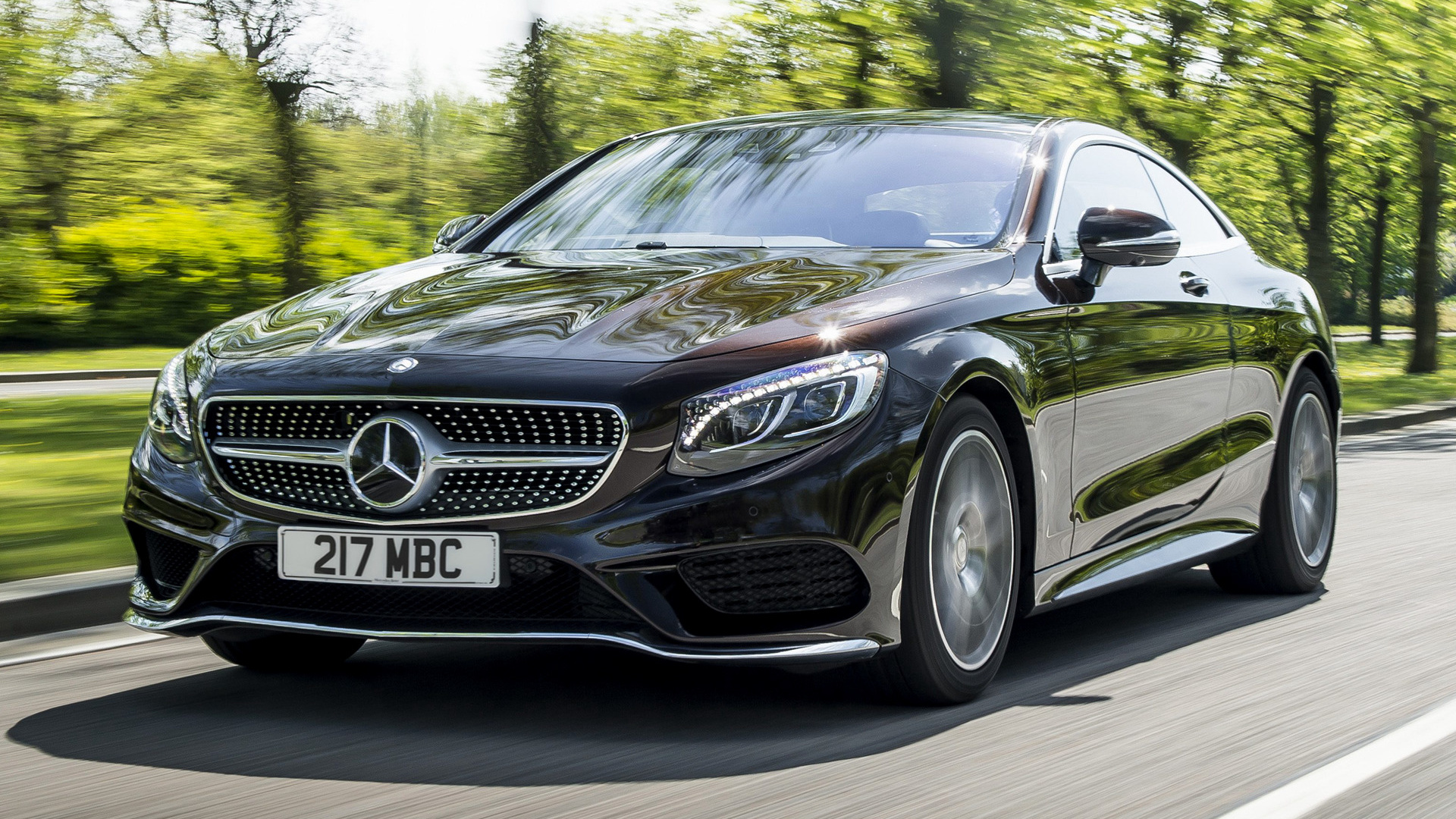 2014 Mercedes Benz S Class Coupe Amg Line Uk