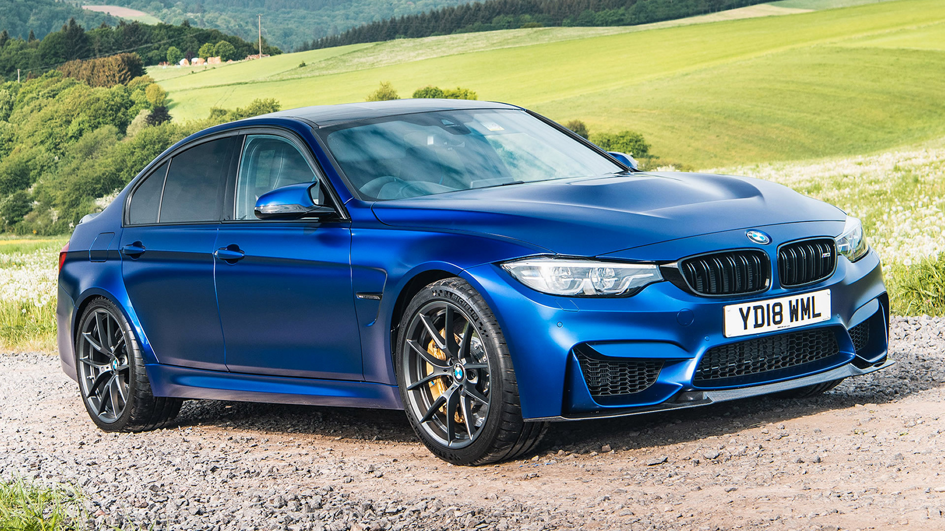 2018 BMW M3 CS (UK) - Wallpapers and HD Images | Car Pixel