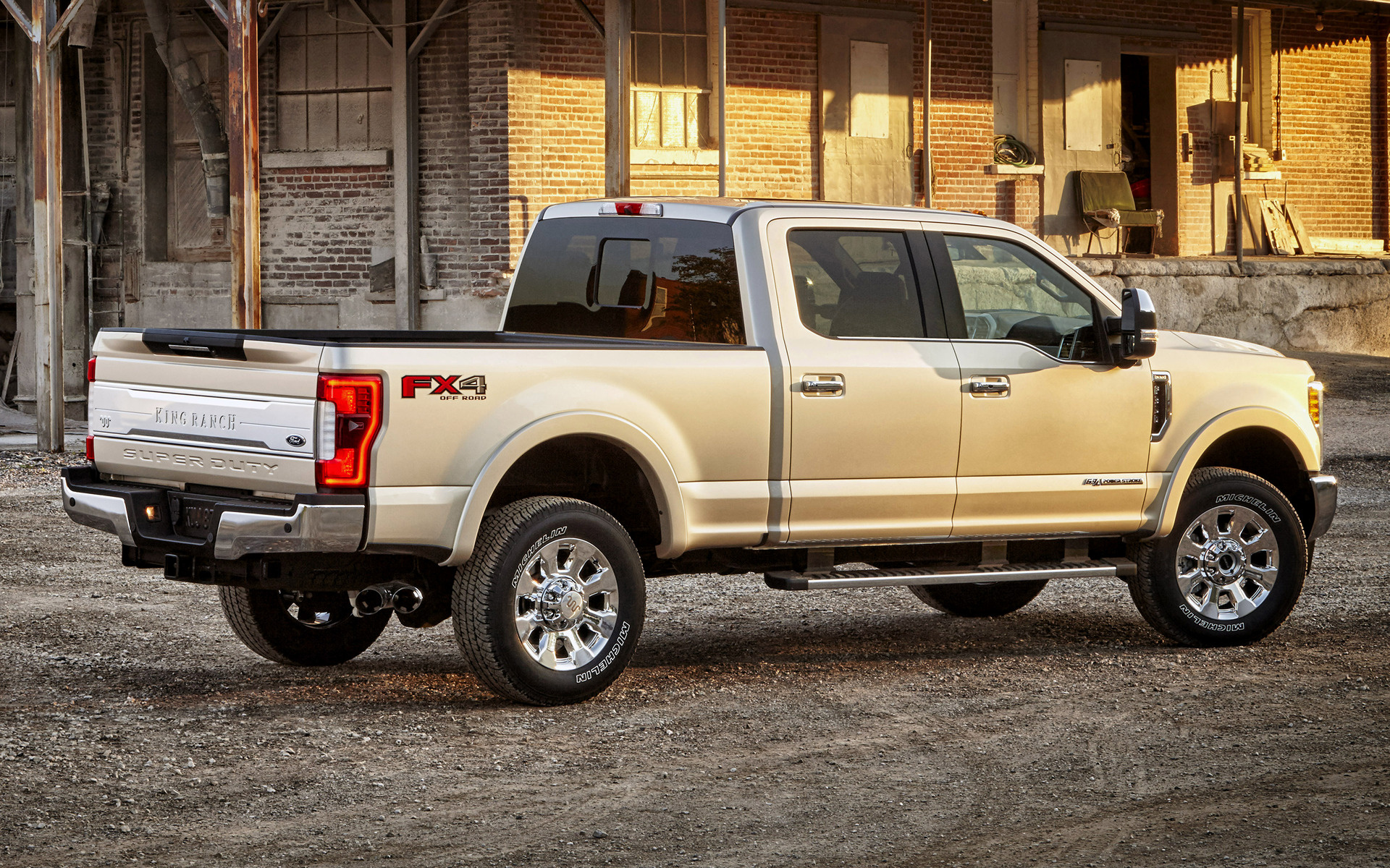 2016 F350 Super Duty >> Ford F-350 King Ranch FX4 Crew Cab (2017) Wallpapers and HD Images - Car Pixel