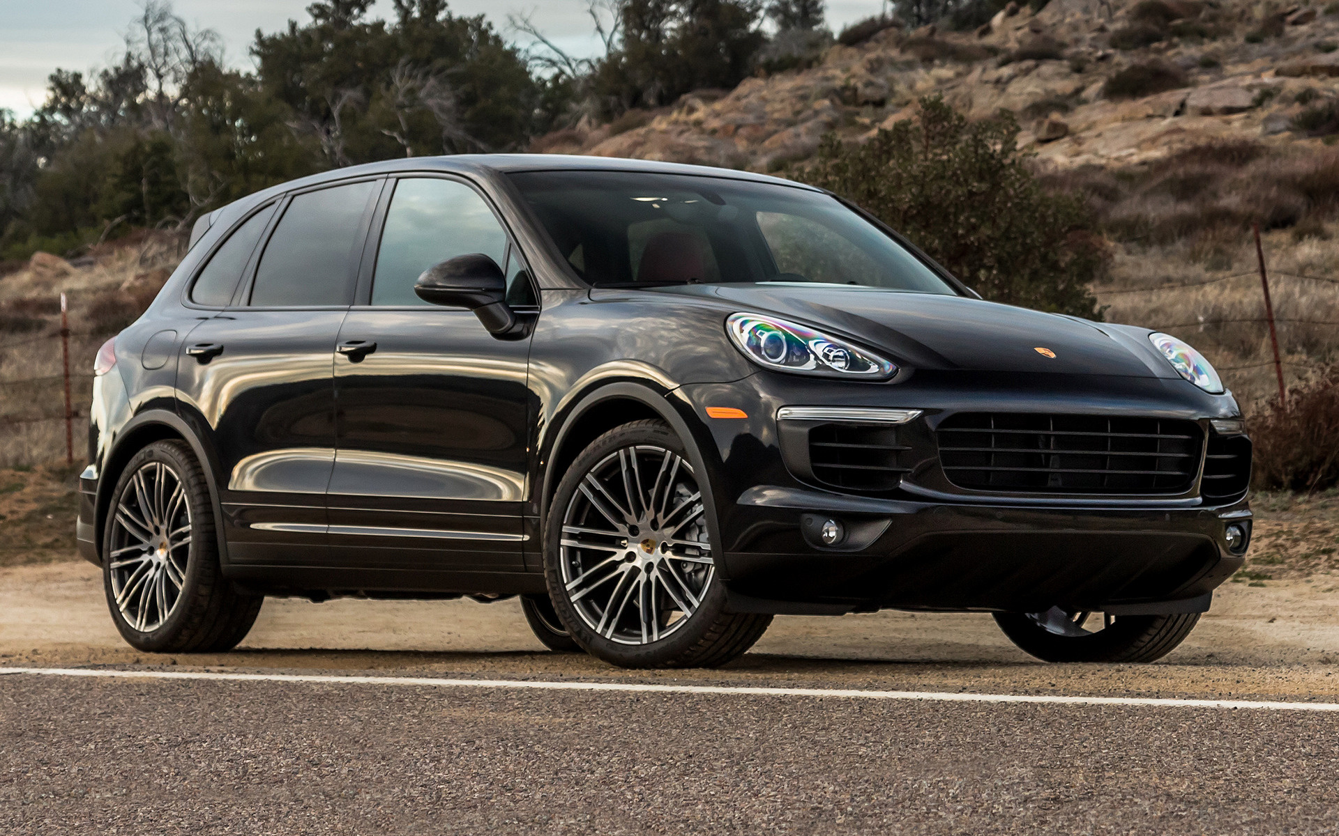 Porsche Cayenne S 2015 US Wallpapers and HD Images  Car Pixel