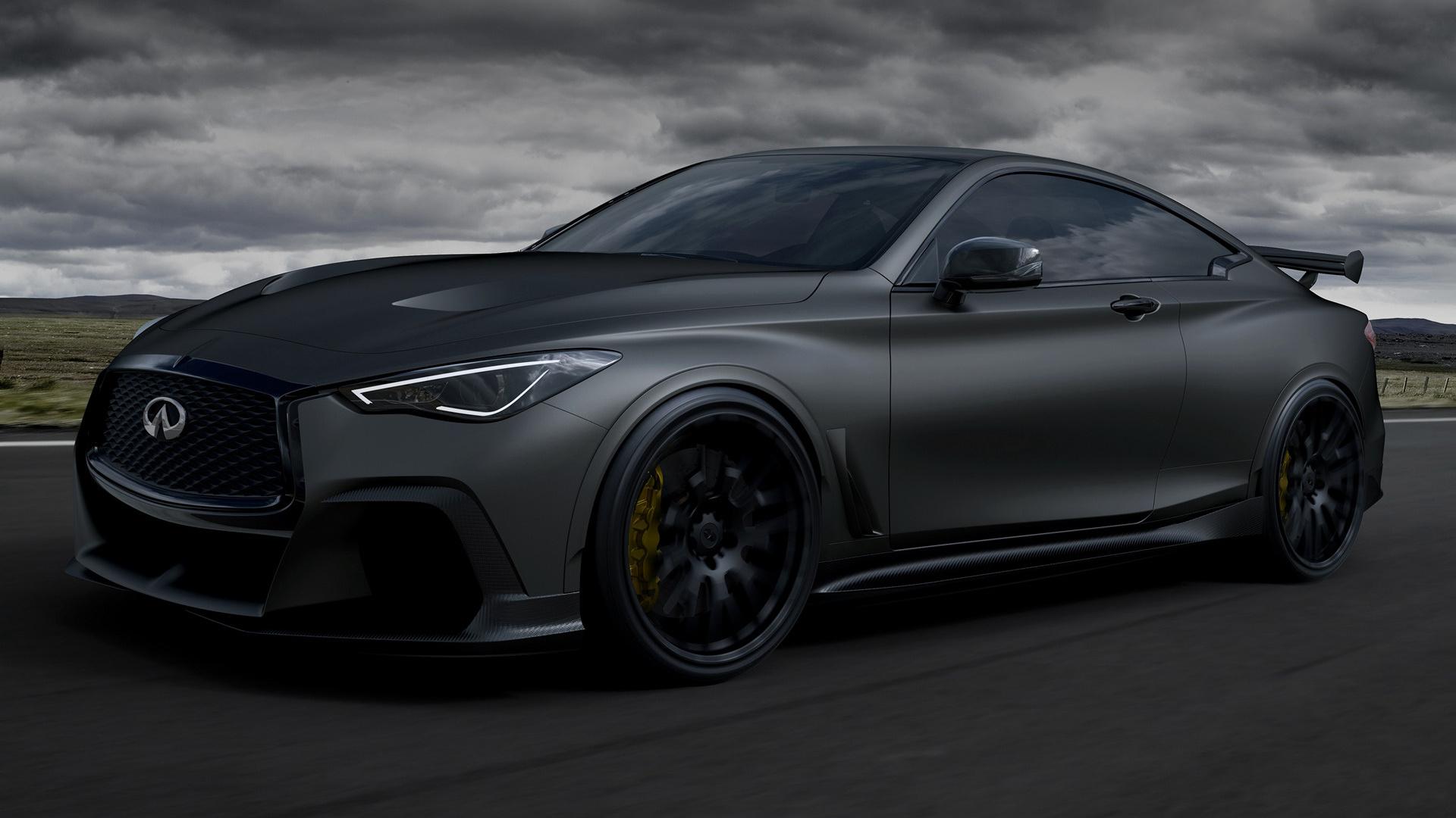 Jaguar Interior 2017 >> Infiniti Q60 Project Black S Concept (2017) Wallpapers and HD Images - Car Pixel