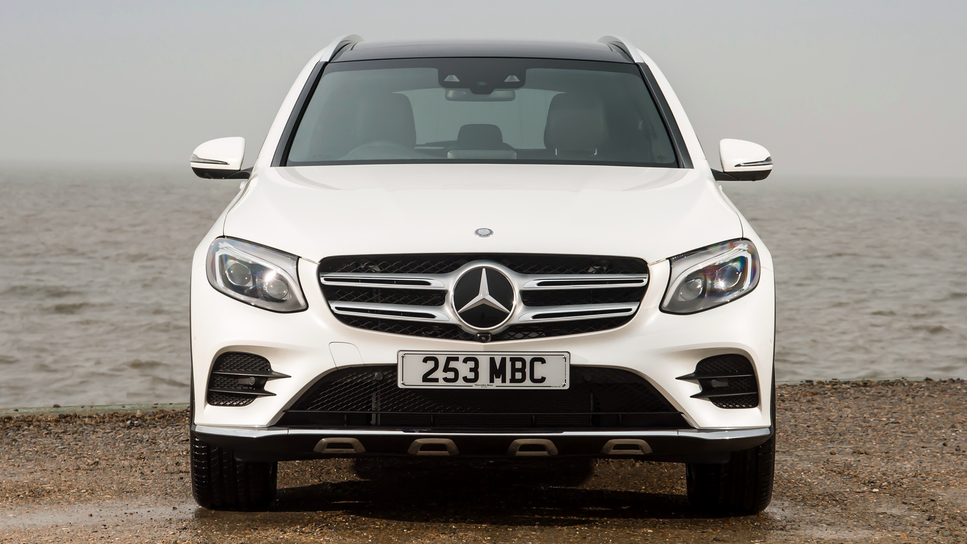 mercedes benz glc class amg line 2015 uk wallpapers and. Black Bedroom Furniture Sets. Home Design Ideas
