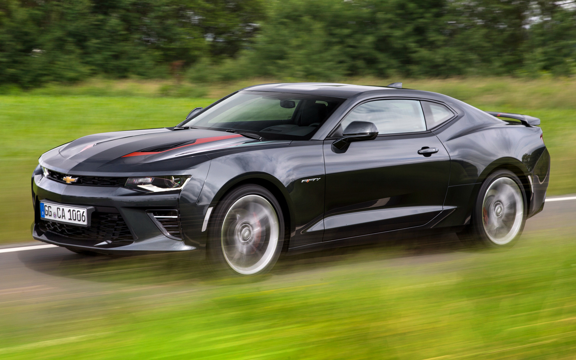 Chevrolet Camaro V8 50th Anniversary 2016 Eu Wallpapers And Hd Images Car Pixel