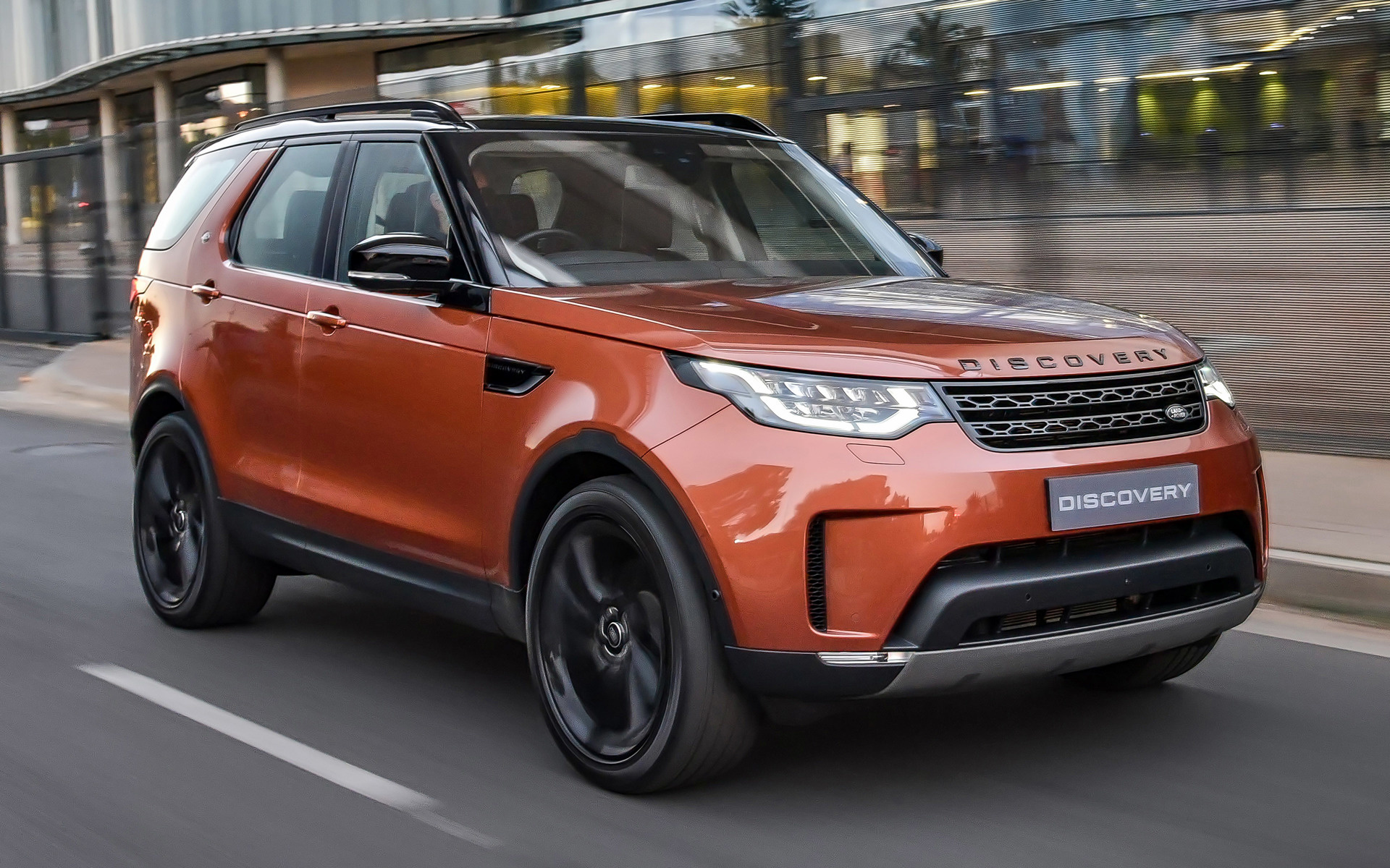 Ws 8 5 Land Rover Discovery First Edition 2017