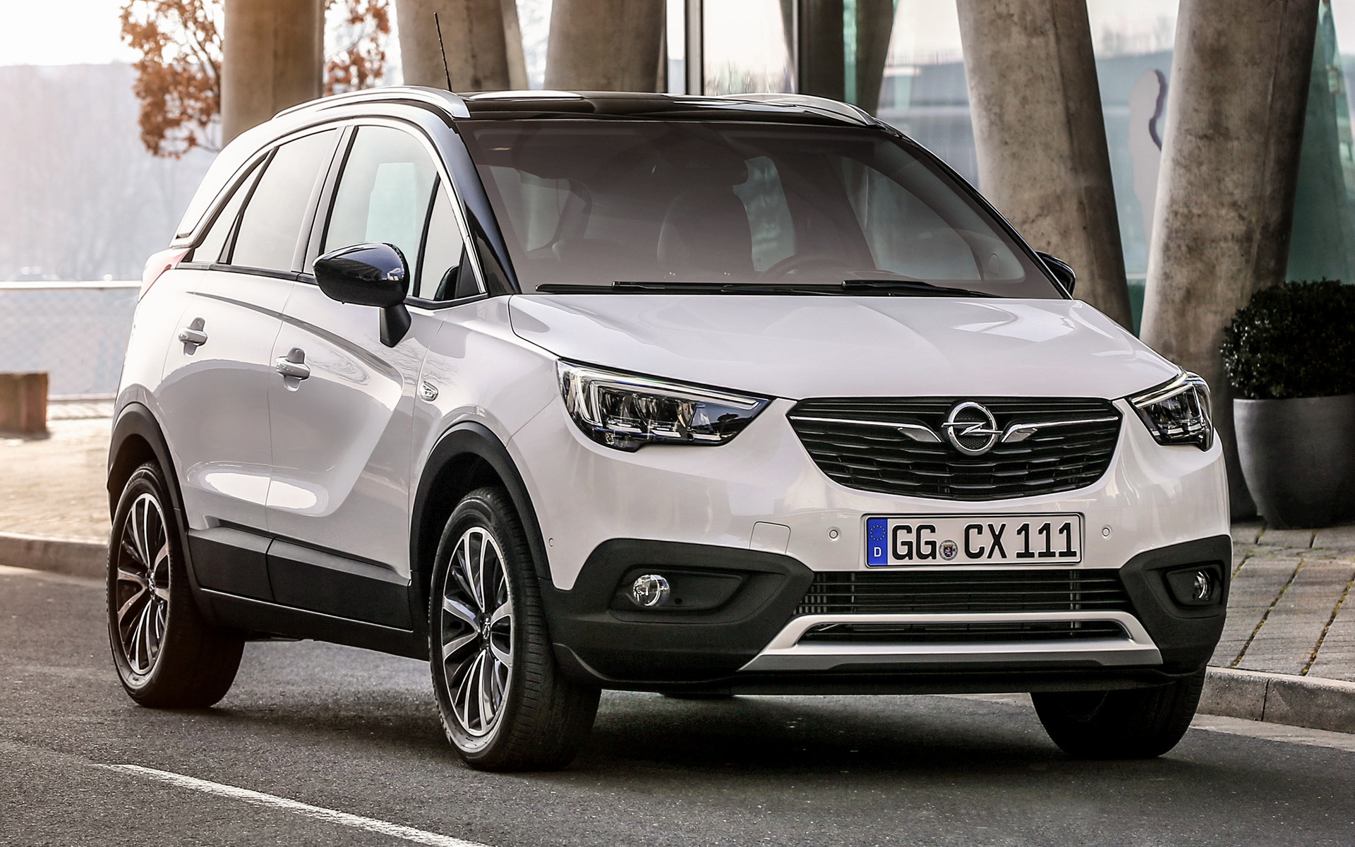 BMW Car Accessories >> 2017 Opel Crossland X - Wallpapers and HD Images   Car Pixel
