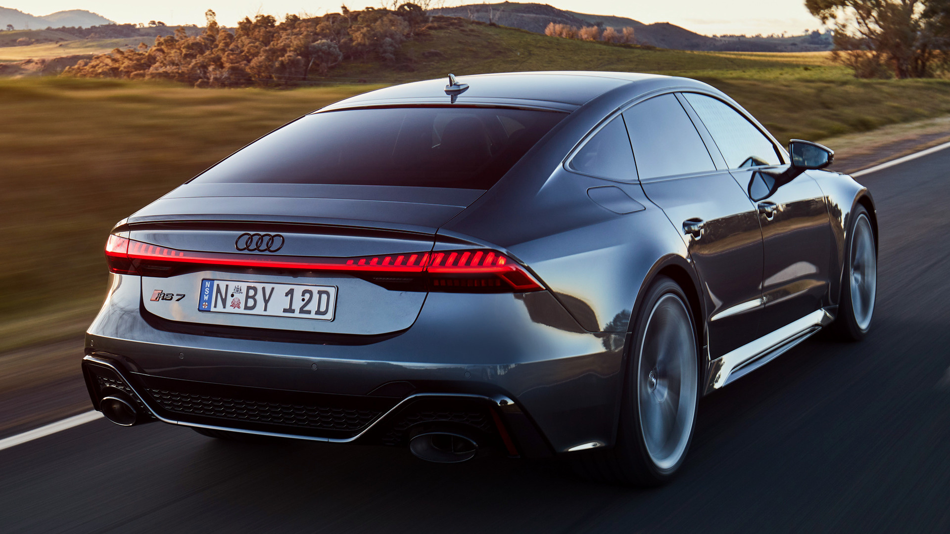 2020 Audi Rs 7 Sportback Au Wallpapers And Hd Images Car Pixel